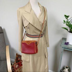 VTG Dooney & Bourke Small Crossbody Zipper Bag